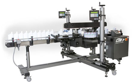 Front and Back Labeling system
